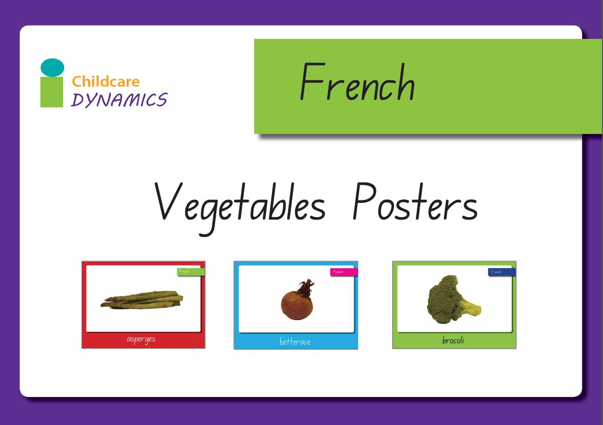 Vegetable Displays- French
