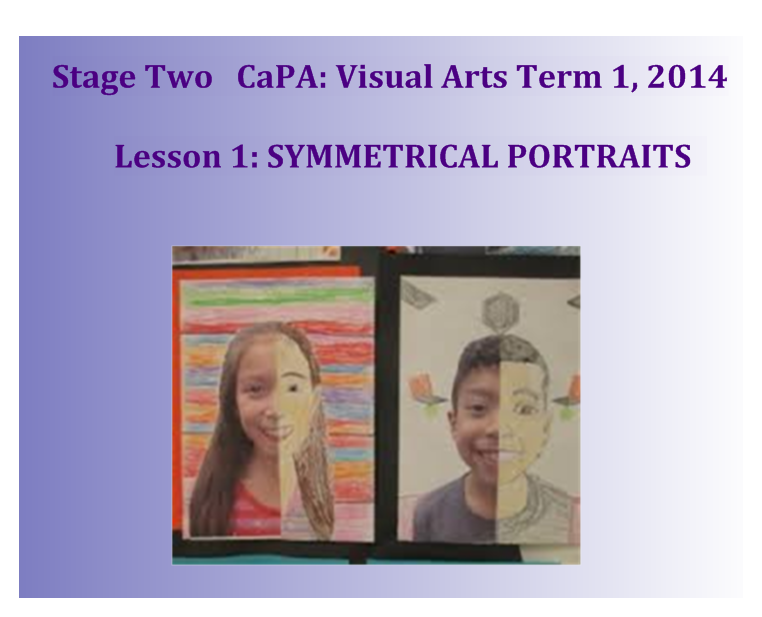 VISUAL ARTS PROGRAM 1 SMART-BOARD PAGES