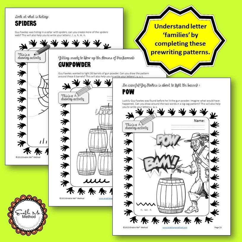 handwriting worksheets for 7 11 years success with guy fawkes teach in a box. Black Bedroom Furniture Sets. Home Design Ideas