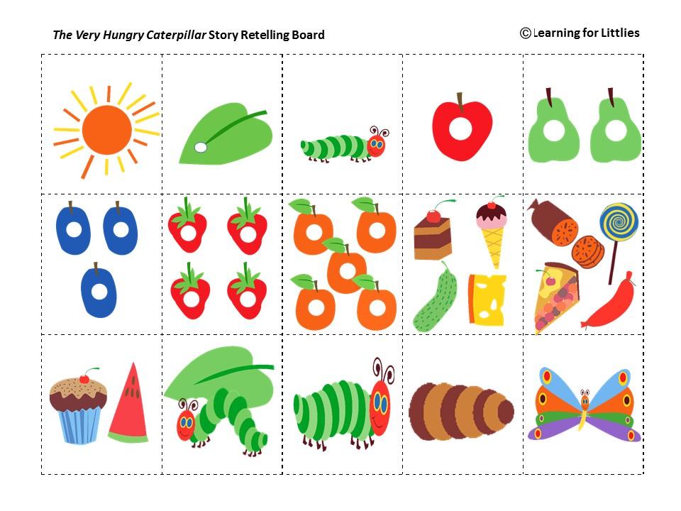 Iteminfo on Story Retell Worksheet Kindergarten